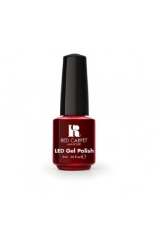 Red Carpet Manicure LED Gel Polish - Runway Red - 0.3oz / 9ml