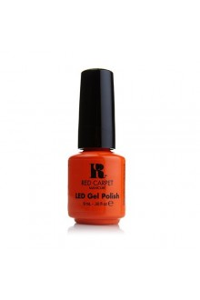 Red Carpet Manicure LED Gel Polish - Tangerine on the Rocks - 0.3oz / 9ml