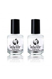 Seche Vite Topcoat - 0.5oz / 15ml - 2pk