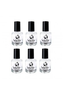 Seche Vite Topcoat - 0.5oz / 15ml - 6pk
