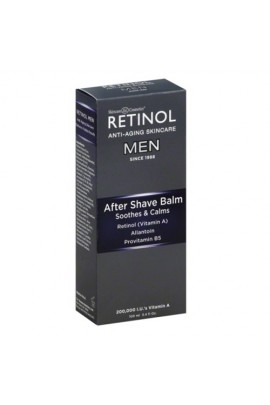 Skincare Cosmetics - Retinol Anti-Aging Skincare for Men - After Shave Balm - 3.4oz / 100ml