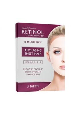 Skincare Cosmetics - Retinol Anti-Aging Sheet Mask - 5 Sheets