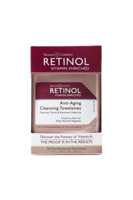 Skincare Cosmetics - Retinol Anti-Aging Skincare - Cleansing Towelettes - 30 Count