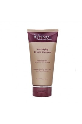 Skincare Cosmetics - Retinol Anti-Aging Skincare - Cream Cleanser - 5oz / 150ml