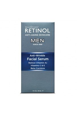 Skincare Cosmetics - Retinol Anti-Aging Skincare for Men - Facial Serum - 1oz / 30ml