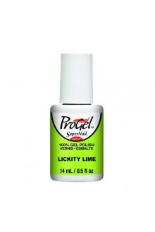 SuperNail ProGel Polish - Tropical Pop! Collection - Lickity Lime - 0.5oz / 14ml