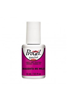 SuperNail ProGel Polish - Tropical Pop! Collection - Magenta Me Wild - 0.5oz / 14ml