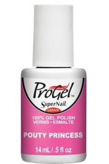 SuperNail ProGel Polish - Pouty Princess - 0.5oz / 14ml