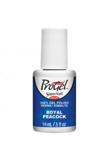 SuperNail ProGel Polish - Royal Peacock - 0.5oz / 14ml