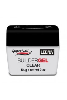 Supernail LED/UV Builder Gel Clear - 2oz / 56g