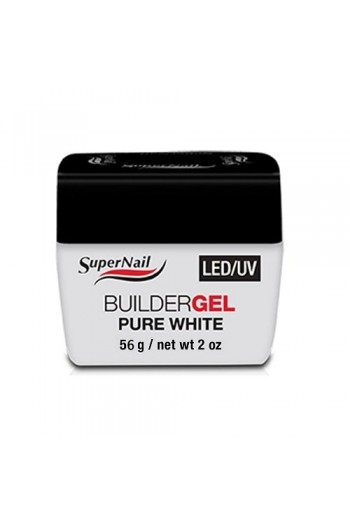 Supernail LED/UV Builder Gel Pure White - 2oz / 56g