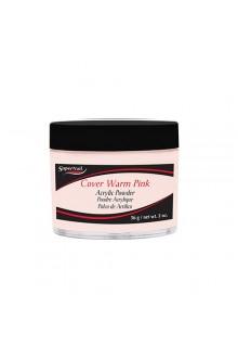 SuperNail Cover Warm Pink Acrylic Powder - 2oz / 56g