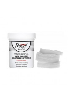 SuperNail ProGel - Pre-Moistened Gel Polish Cleansing Wipes - 65ct