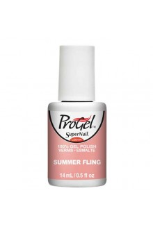 SuperNail ProGel Polish - Boardwalk Babe Collection - Summer Fling - 0.5oz / 14ml