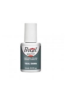 SuperNail ProGel Polish - Pretty in Punk Collection - Teal Dawn - 0.5oz / 14ml