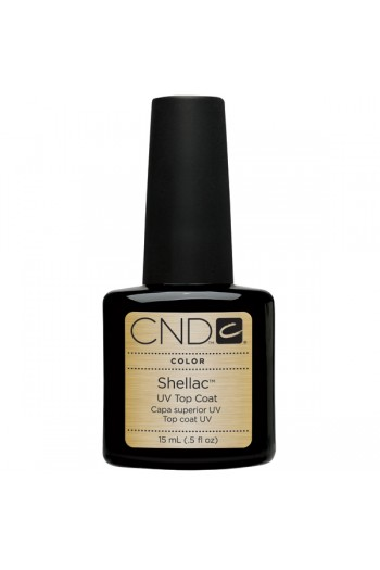 CND Shellac Power Polish - UV Top Coat - 0.5oz / 15ml