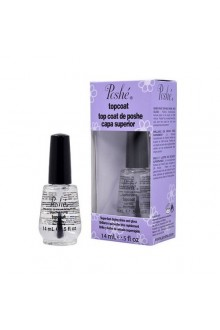 Poshe - Super-Fast Drying Top Coat - 0.5oz / 14ml