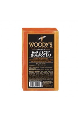 Woody's Quality Grooming - Hair & Body Shampoo Bar - 227g / 8oz