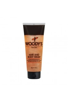 Woody's - Hair and Body Wash - 10oz / 296ml