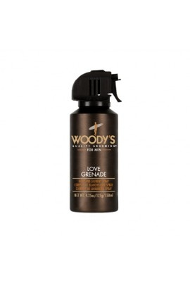 Woody's Quality Grooming - Love Grenade Body and Laundry Spray - 4.25oz / 150ml